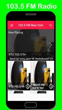 radio station new york city free music 103.5fm poster