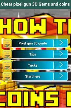 Cheat Pixel Gun 3D poster