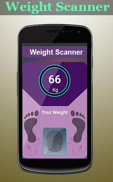 Weight Machine Scanner Prank poster