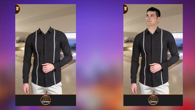 Men Simple Shirt Suit Fashion apk screenshot