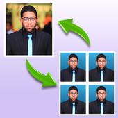 Passport Size Photo Maker icône