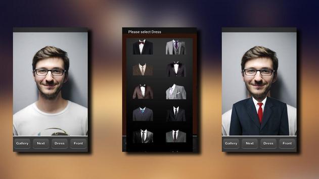 Passport Size Photo Maker capture d'écran 3