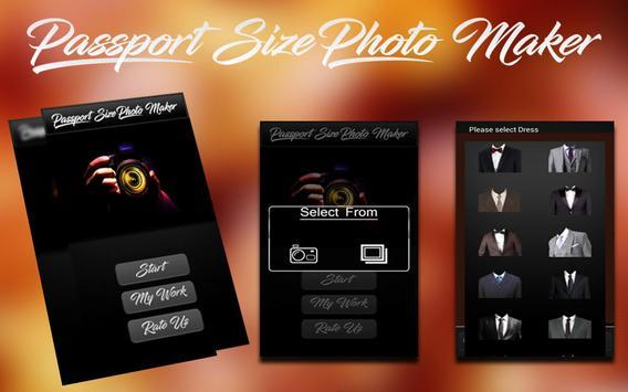 Passport Size Photo Maker capture d'écran 8