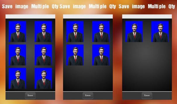 Passport Size Photo Maker capture d'écran 9