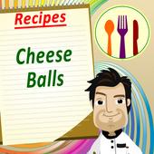 Cheese Balls Cookbook Free icon