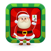 Christmas card maker icon