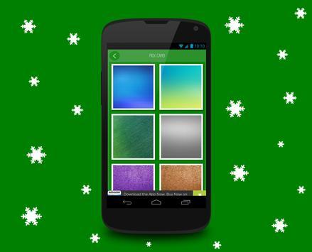Christmas card maker screenshot 3