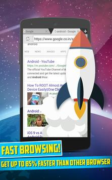 4g fast speed browser apk screenshot
