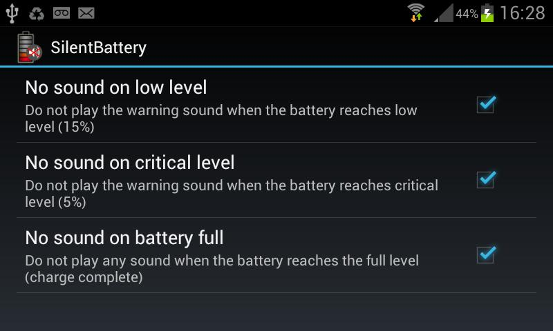 Disable Low Battery Beep for Android - APK Download