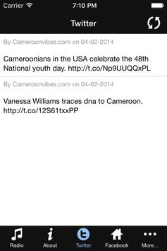 Cameroon Vibes Radio apk screenshot