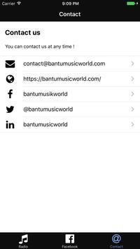BANTU MUSIC WORLD apk screenshot