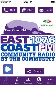 EastCoastFM poster