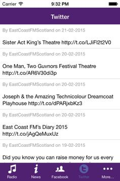 EastCoastFM apk screenshot