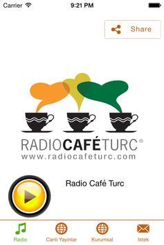 Radio Café Turc poster