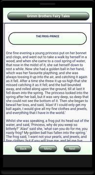 Grimm Brothers Fairy Tales apk screenshot