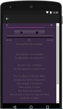 Lyrics Rosa de Saron song apk screenshot