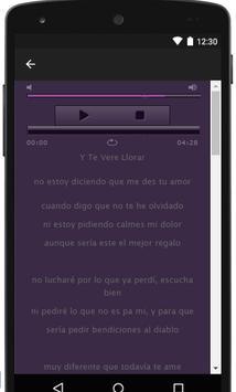 Letra Los Chichs Del Vallenato apk screenshot