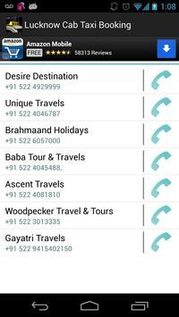Lucknow Cab Taxi Booking apk screenshot