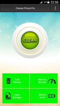 Cleaner Phone Pro poster