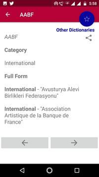 Abbreviation Dictionary Offline screenshot 5