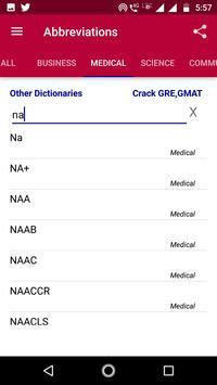 Abbreviation Dictionary Offline screenshot 1