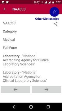 Abbreviation Dictionary Offline screenshot 2