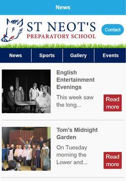 St Neot's Preparatory School poster