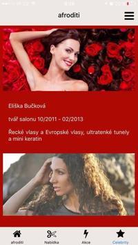 AFRODITI Hair salon apk screenshot