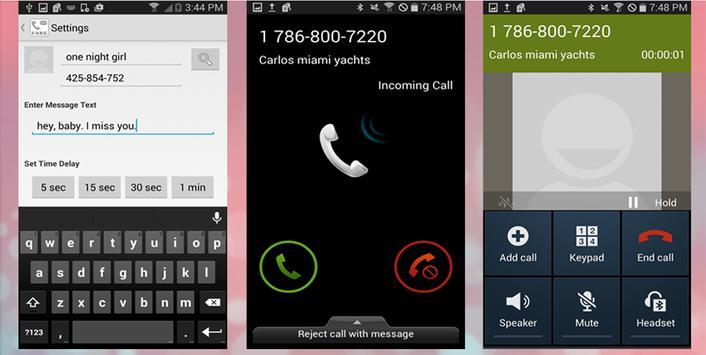 Fake Call & SMS تصوير الشاشة 3