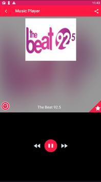 The Beat 92.5 Radio 92.5 FM Radio The Beat poster