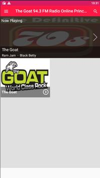 The Goat 94.3 FM Radio Online Prince George Goat poster