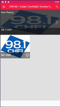 Chfi 98.1 Listen Live Radio Toronto 98.1 Chfi App poster