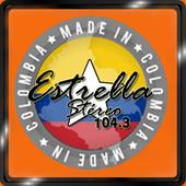 Estrella Estereo Medellin 104.3 FM Radio Online icon