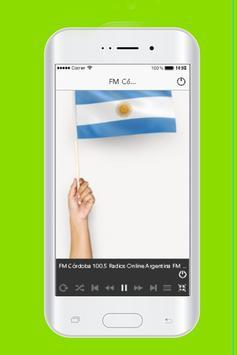 FM Córdoba 100.5 Radios Online Argentina FM 100.5 poster