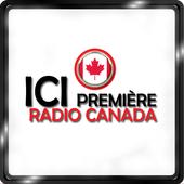 ICI Radio Canada Première Radio Canada Radio App icon