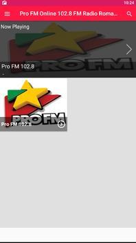 Pro FM Online 102.8 FM Radio Romania ProFM Live FM poster