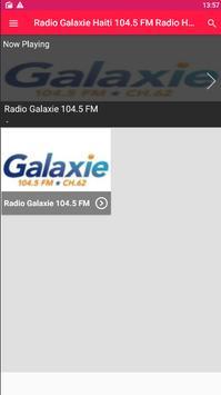 Radio Galaxie Haiti 104.5 FM Radio Haiti Online poster