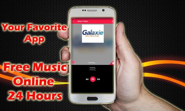 Radio Galaxie Haiti 104.5 FM Radio Haiti Online screenshot 1