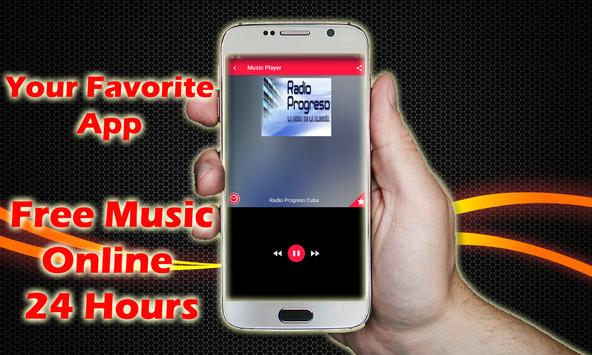 Radio Progreso Cuba Radios De Cuba Music Online screenshot 1