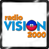 Radio Vision 2000 Haiti 99.3 FM Haitian Music App icon