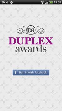 Duplex Awards poster