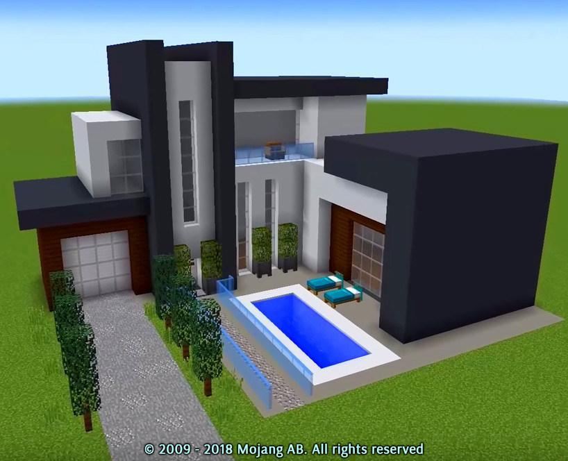 Minecraft Modern House
