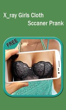 Xray Girls cloth scanner prank poster