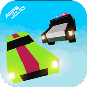 Police Chase 3D : Blocky Evade icon