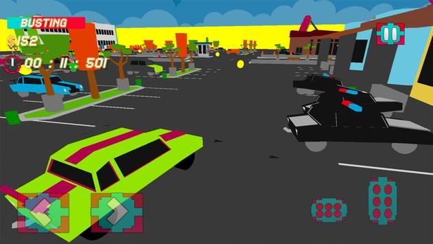 Police Chase 3D : Blocky Evade apk screenshot