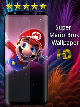 Super Mario Bros Wallpaper poster