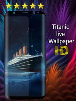 Titanic Live Wallpaper screenshot 1