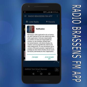 radio Brassens fm:Brassens radio en ligne app screenshot 3