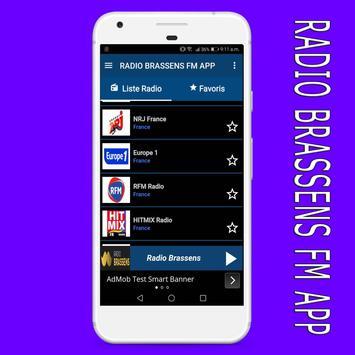 radio Brassens fm:Brassens radio en ligne app screenshot 4