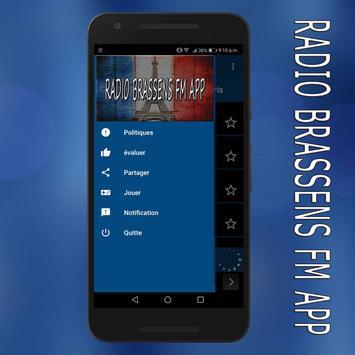 radio Brassens fm:Brassens radio en ligne app screenshot 5